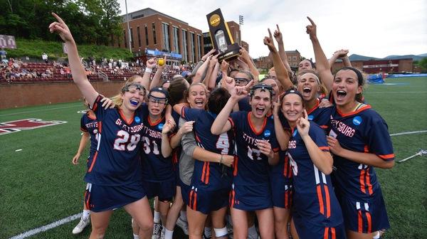 Gettysburg wins the 2017 DIII Women's Lacrosse Championship