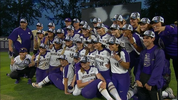 DI Softball: Washington advances to the WCWS