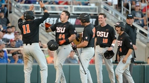 CWS: Oregon State dominates LSU in NCAA tournament