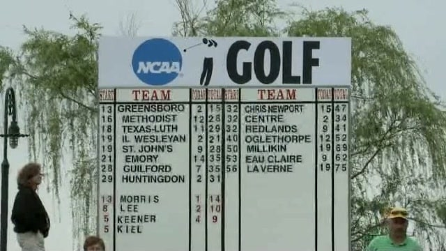 DIII Men's Golf Championship Recap