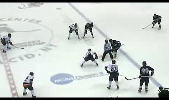 2013 DIII Men's Ice Hockey Semifinals: UW-Eau Claire vs. Utica - Full Replay