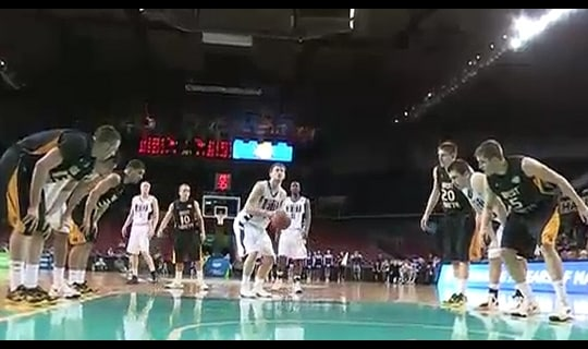 2013 DII Men's Basketball Quarterfinal: West Liberty vs. Winona State - Full Replay
