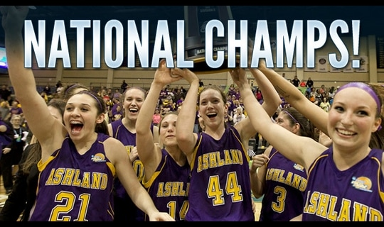 Ashland bolts by Dowling for first national title