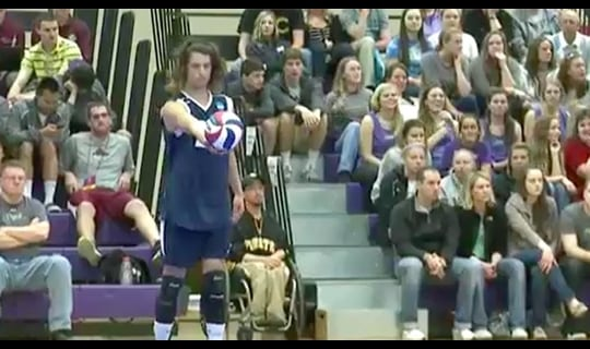2013 DIII Men's Volleyball: UC Santa Cruz vs. Nazareth- Full Replay