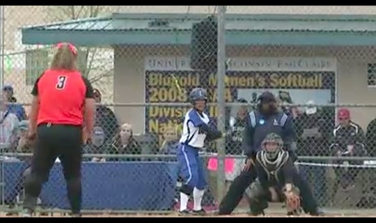 2013 DIII Women's Softball: Luther College vs. Anderson- Full Replay