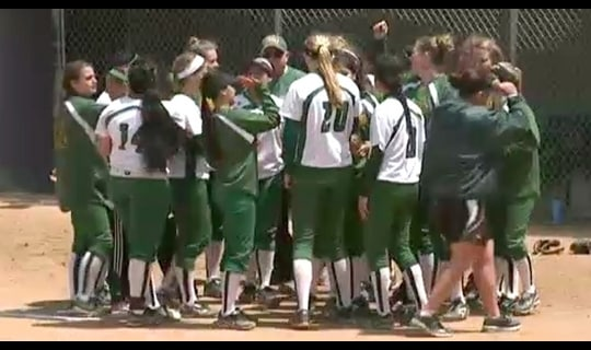 2013 DII Softball Championship: Humboldt St. vs Texas Women's Full Replay