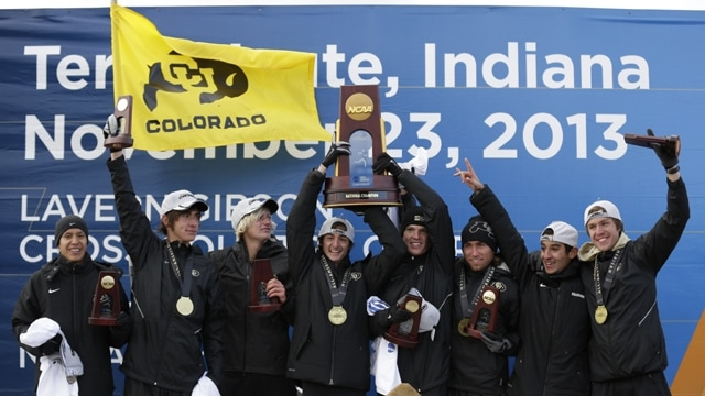 Colorado wins the 2013 Men's DI Cross Country Championship