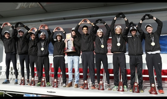 St. Olaf College wins the 2013 DIII Men's Cross Country Championship