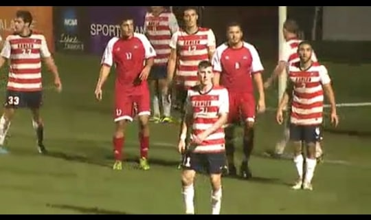 2013 DII Men's Soccer Semifinal: Simon Fraser vs. Carson-Newman - Full Replay