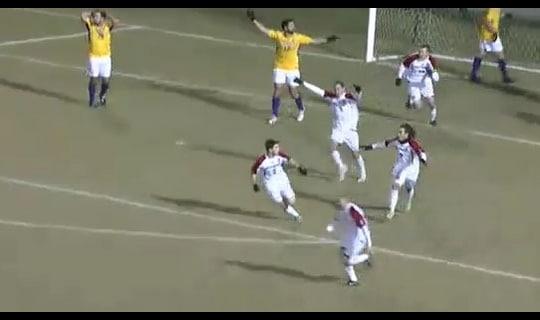 2013 DIII Men's Soccer Semifinal: Loras vs. Rutgers-Camden - Full Replay