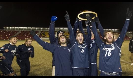 Messiah wins the 2013 DIII Men's Soccer Championship