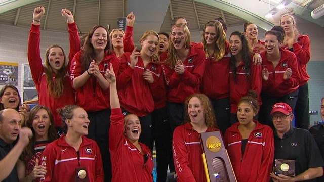 Women's Swimming and Diving: Georgia repeats as champs