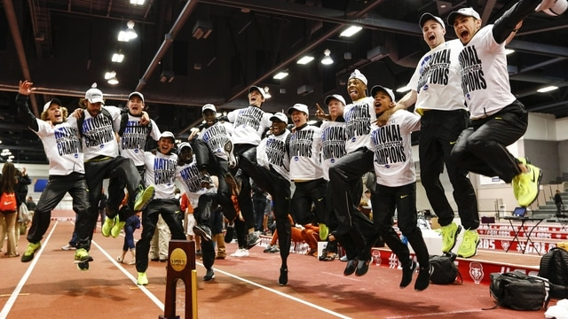 Indoor Track & Field: Ducks win second title