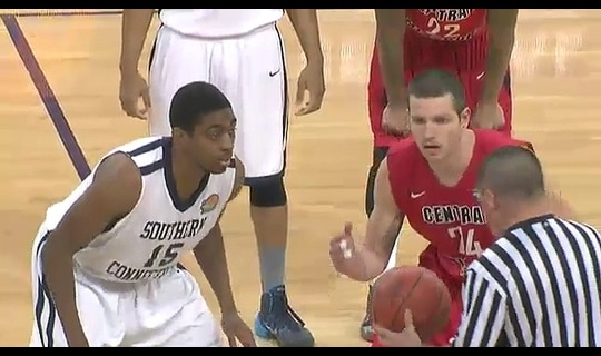 2014 DII Men's Basketball Quarterfinal: Central Missouri vs. Southern Conn. State - Full Replay