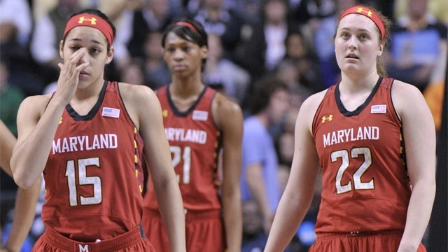 Women's Final Four: Maryland's season ends