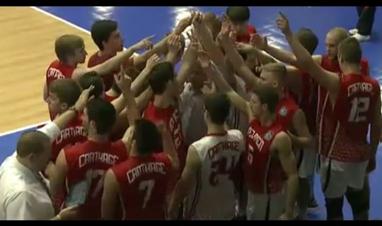 2014 DIII Men's Volleyball Quarterfinal: Rivier vs. Carthage - Full Replay