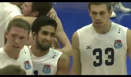 2014 DIII Men's Volleyball Quarterfinal: Kean vs. Juniata - Full Replay