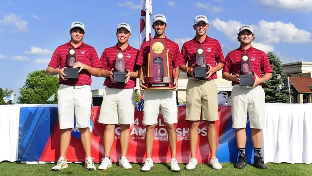 Schreiner University wins the 2014 DIII Men's Golf Championship