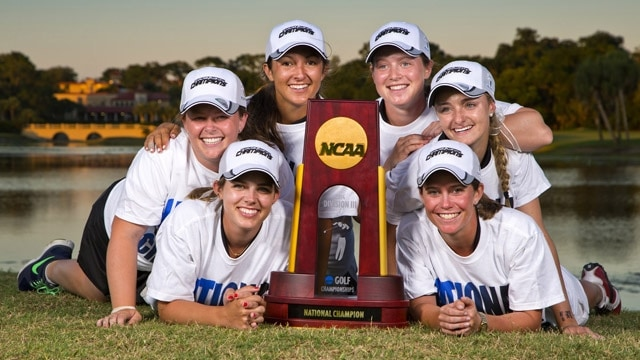 Rhodes College wins the 2014 DIII Women's Golf Championship