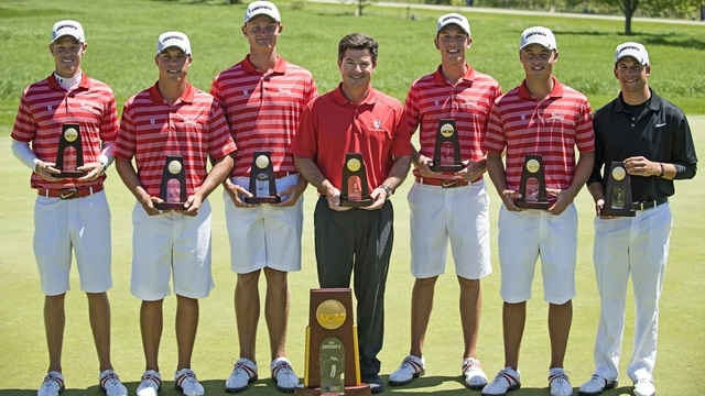 Barry wins the 2014 DII Men's Golf Championship