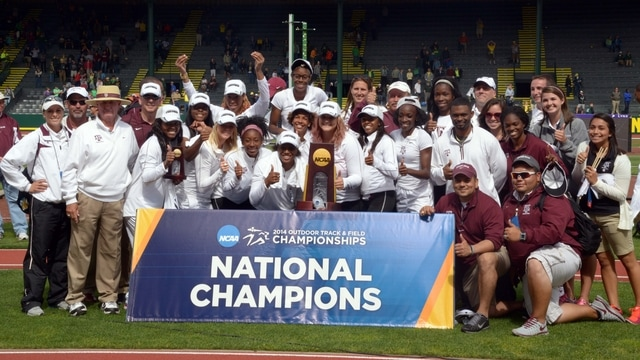 2014 DI Outdoor Track & Field Championships: Texas A&M wins women's title