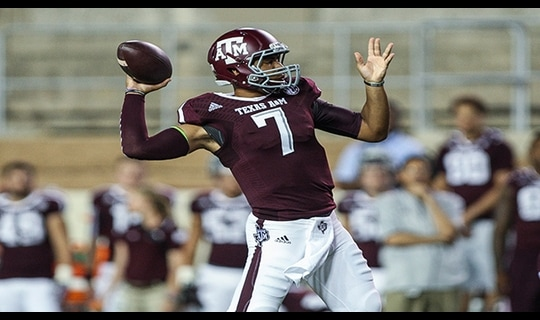Gamechanger: Kenny Hill and Texas A&M roll Rice