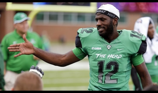 Hand Him The... Marshall's Rakeem Cato