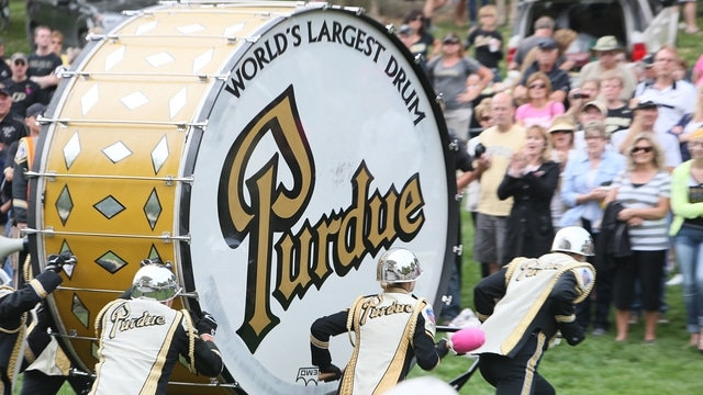 Traditions: Purdue's drum