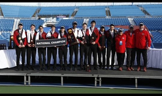 North Central wins the 2014 DIII Men's Cross Country Championship