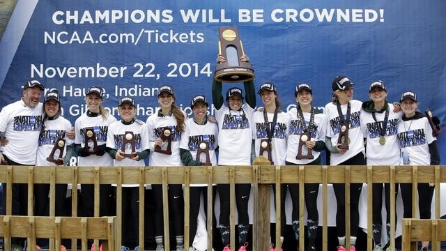Michigan State wins the 2014 DI Women's Cross Country Championship