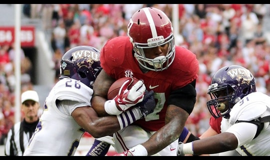 Gamechanger: Derrick Henry keeps the Crimson Tide rolling
