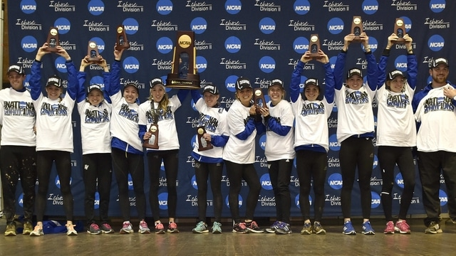 GVSU wins the 2014 DII Women's Cross Country Championship