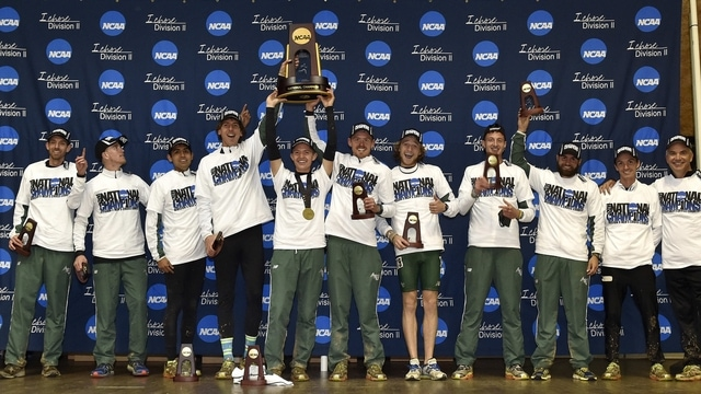 Adams State wins the 2014 DII Men's Cross Country Championship