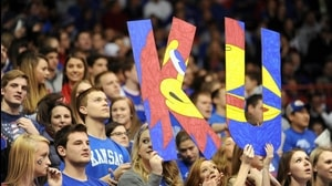 Traditions: Kansas' Rock Chalk Jayhawk