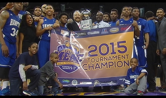 Gamechanger: Hampton claims MEAC title