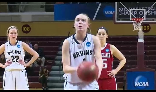 2015 DIII Women's Basketball Semifinal Full Replay: Montclair State vs. George Fox
