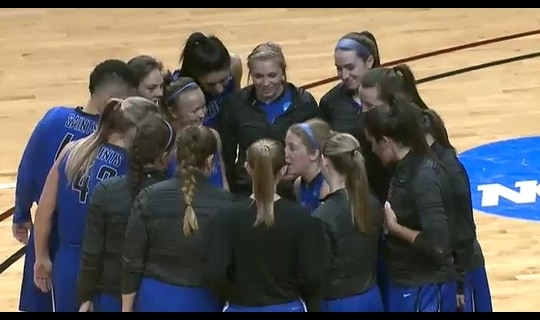 2015 DIII Women's Basketball Championship Full Replay: Thomas More vs. George Fox