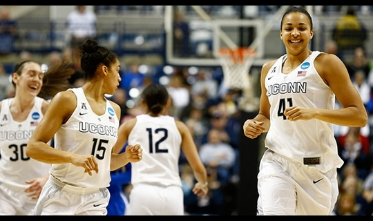First Roud: UConn dominates