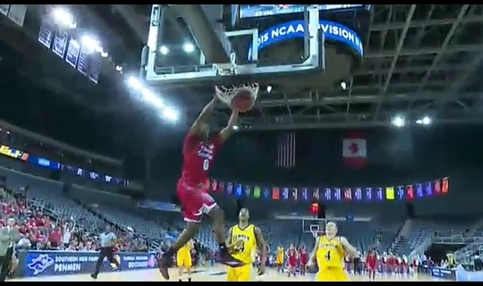 2015 DII Men's Basketball Quarterfinal Full Replay: Florida Southern vs. Southern N.H.