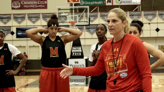 Women's Final Four: Maryland Terrapin toughness