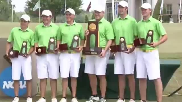 Methodist wins the 2015 DIII Men's Golf Championship