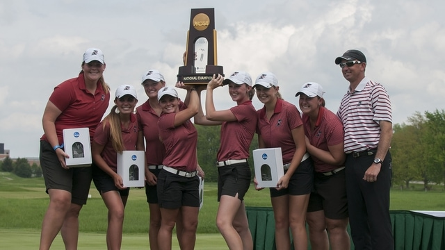 UIndy wins the 2015 DII Women's Golf Championship