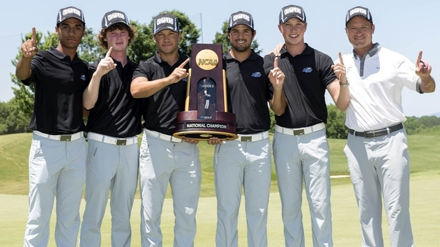Nova Southeastern wins the 2015 DII Men's Golf Championship