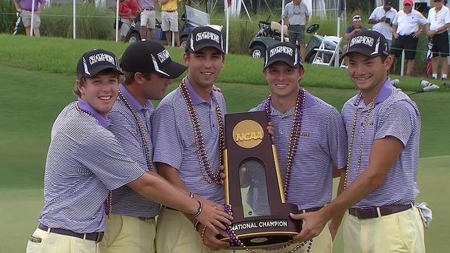 DI Men's Golf: LSU claims title