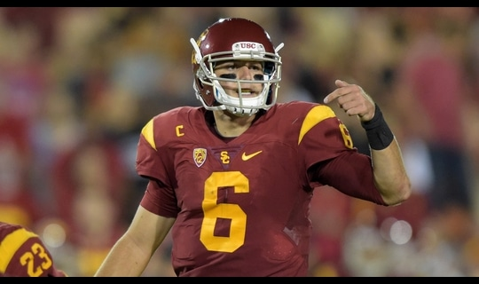 USC Football: Cody Kessler tosses 31-yard pass to Whitney