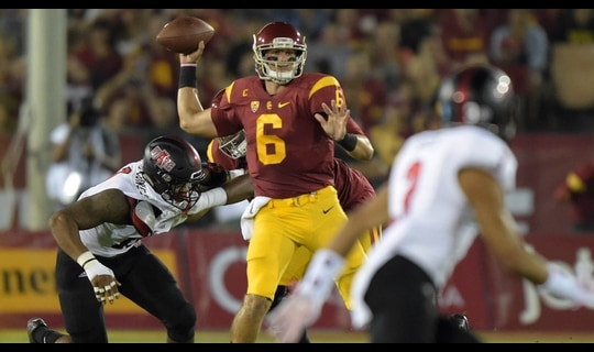 USC Football: Trojans trick play sets up Taylor McNamara TD