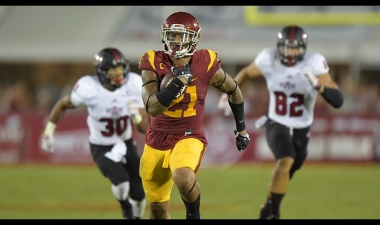 USC Football: Su'a Cravens picks off Knighten