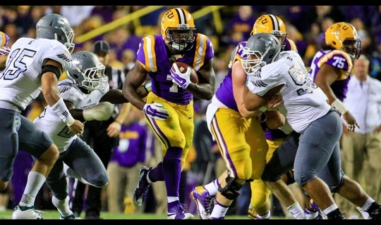 LSU Football: Fournette 75-yard TD