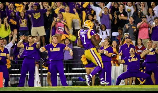 LSU Football: Fournette third TD
