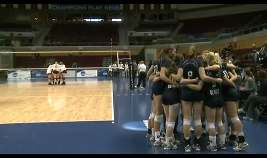 2015 DIII Women's Volleyball Quarterfinal Full Replay: Bethel vs. Hendrix